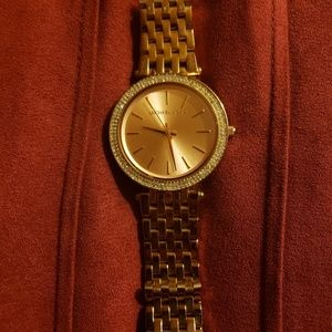 Michael Kors Darci Rose Gold Stainless Watch